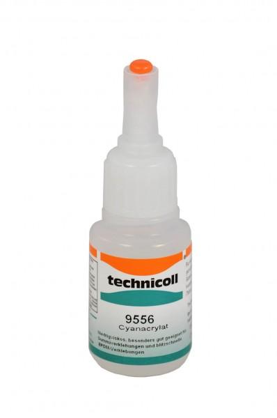 technicoll® 9556 - Sekundenklebstoff für Gummi und Moosgummi