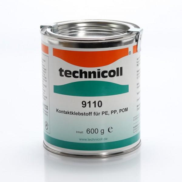 technicoll® 9110 - Kontaktklebstoff für Kunststoffe - 600 Gramm Dose