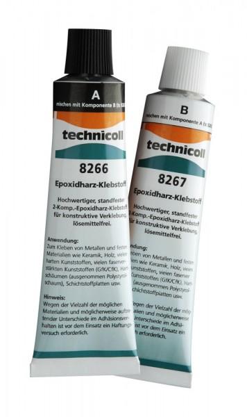 technicoll® 8266/8267 - standfester, spaltfüllender 2-K Epoxidharzklebstoff für konstruktive Klebung